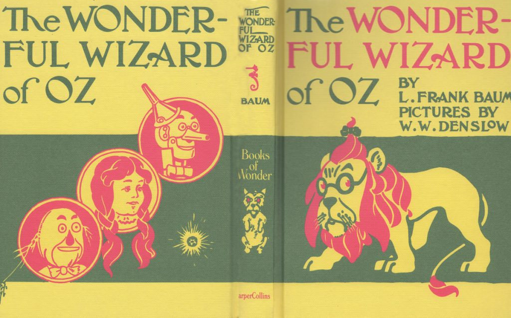 Wizard of Oz book - photo by Suzanne Harrison